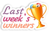 Last Week's Winners